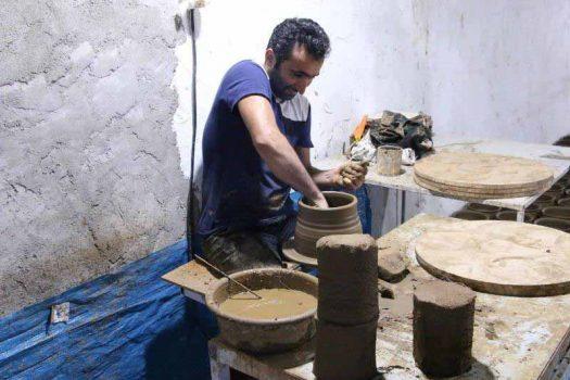 هنرمندان آستانه ای خواستار احداث بازارچه صنایع دستی شدند