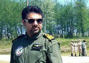 رونمایی از هواپیمای فوق سبک ساخت مرکز تحقیقات هوافضای شهید تهرانی مقدم سازمان بسیج علمی گیلان