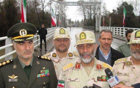 برگزاری نشست سه جانبه فرماندهان مرزبانی ایران، آذربایجان و ترکیه