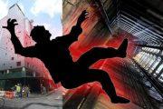 سقوط کارگر ساختمانی از ارتفاع ۱۳ متری در لاهیجان