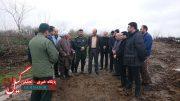 اجرای طرح ماندگار «هر شهید یک درخت» توسط سپاه لاهیجان در روز شهدا