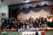 جشن بزرگ جامعه ورزشی و تجلیل از قهرمانان بین المللی شهرستان لاهیجان برگزار شد