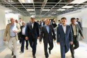 بازدید استاندار گیلان و معاون وزیر راه و شهرسازی از بیمارستان 212 تختخوابی دکتر پیروز